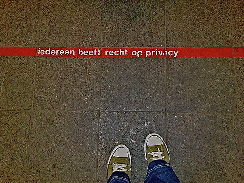 Privacy. Foto: roswitha kamps